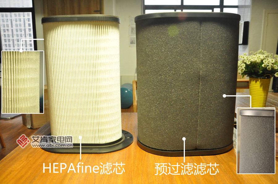 专业除霾、除甲醛 怡可飘空气净化器智享4000型