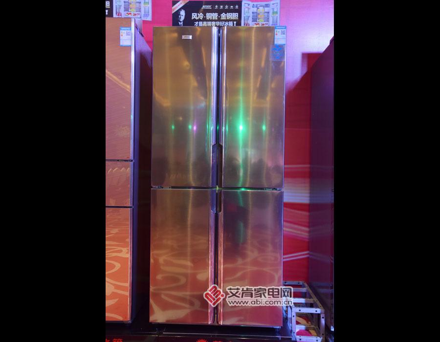 尊贵金钢四门冰箱BCD-449CW高清