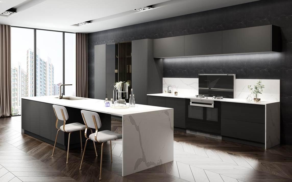 当代青年理想厨房赏鉴 | 亿田高端定制厨房,一眼就爱上的美学艺术!
