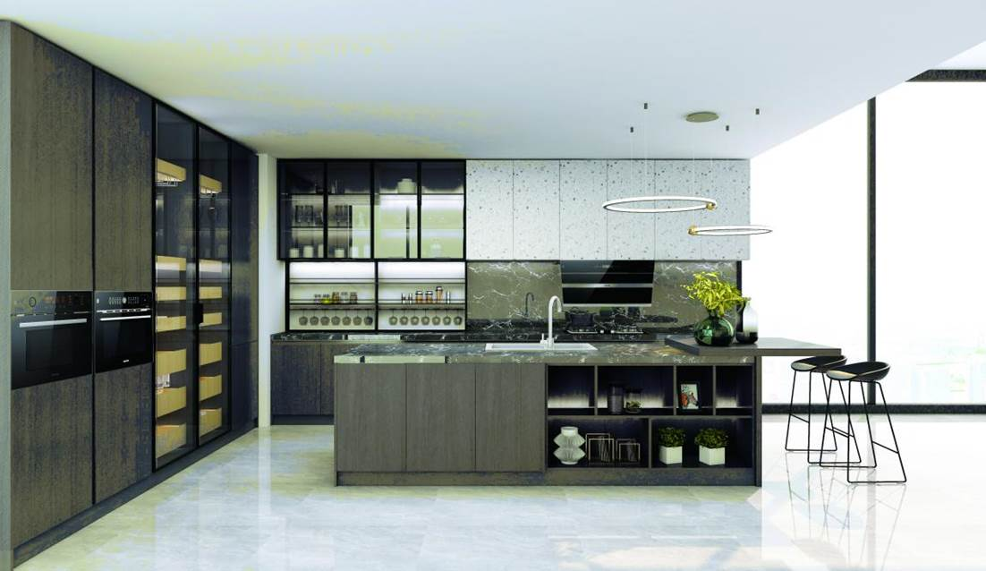 SAKURA樱花整体厨房•衣柜-拉斐尔系列产品