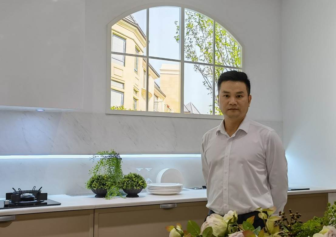 SAKURA樱花定制家居事业处副总经理 朱禄晋