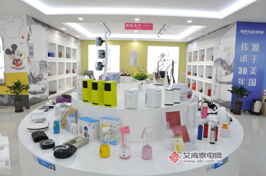 荣事达小家电:琳琅满目 产品展厅像商场