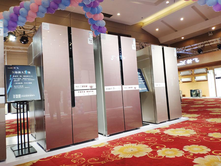 除菌纤薄冰箱领衔  新飞2020新品全线发布
