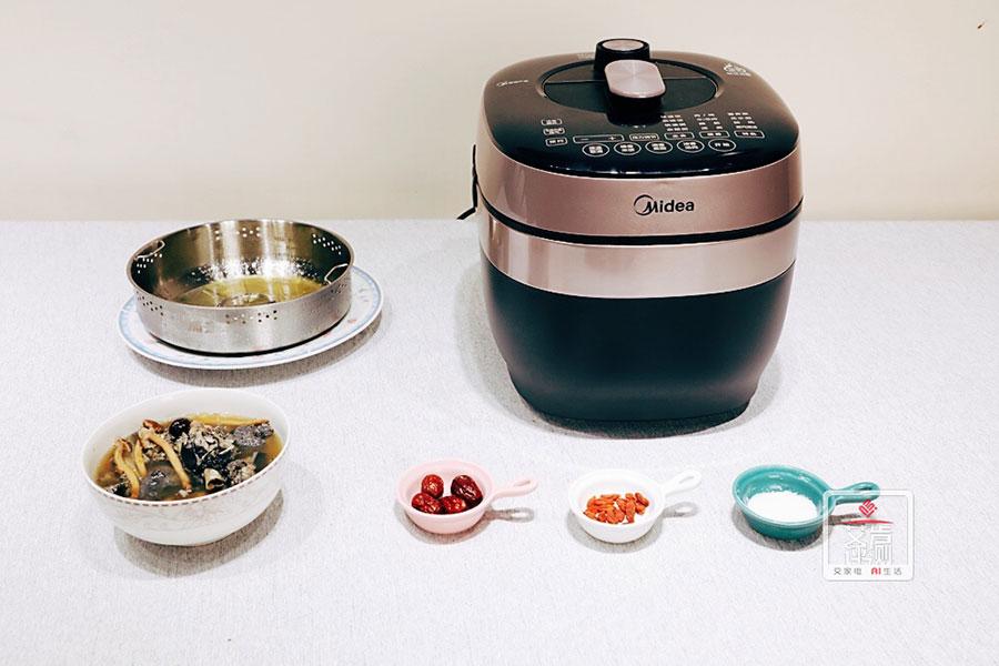 高效祛脂,告别油腻,美的低脂电压力锅HT5073PA开箱体验